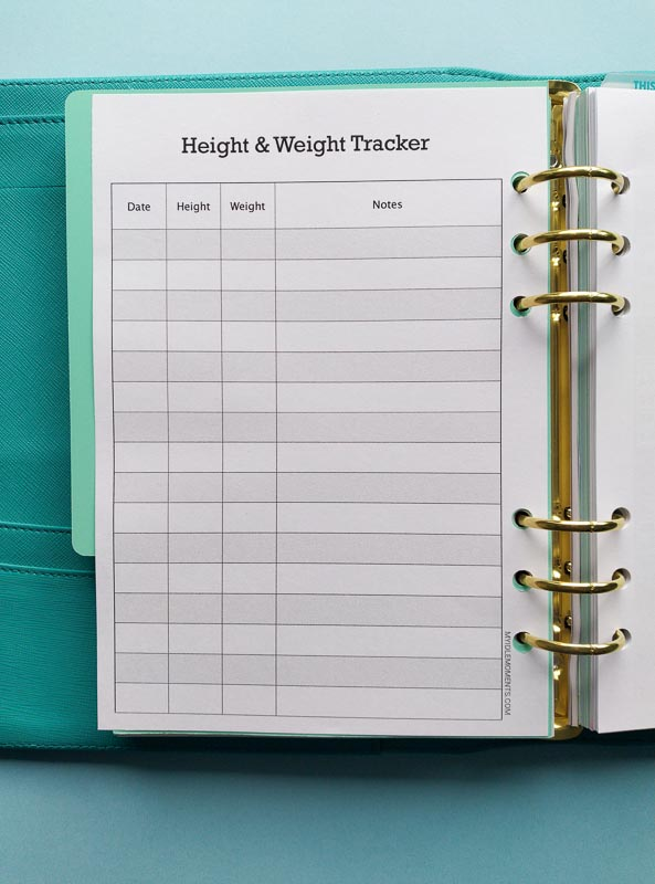 Child Height and Weight Tracker download